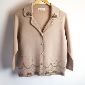 The May Co. Vintage Women's Cardigan Size 12 Wool